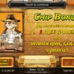 8 Chip Bonus Splash Screen