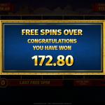 8 Cleopatra Bonus Result