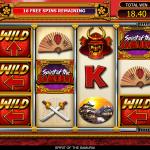 9 Taisho Free Spins Wild